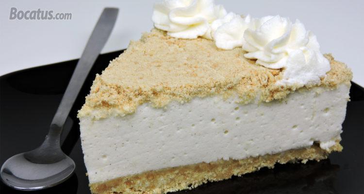 Tarta de Nata y Leche Condensada (fácil, sin horno e irresistible)