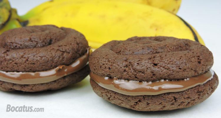 Galletas de Nutella y Plátano (muy fáciles)