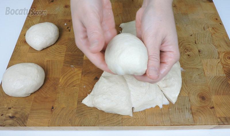 Dando forma al pan