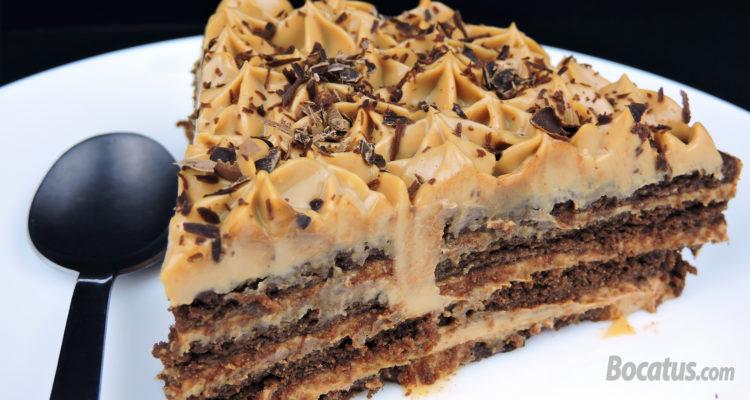Tarta de galletas de chocolate y dulce de leche: Receta de Chocotorta