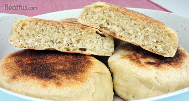 Cómo hacer Pan Casero sin horno ¡¡ Pan hecho en Sartén !!