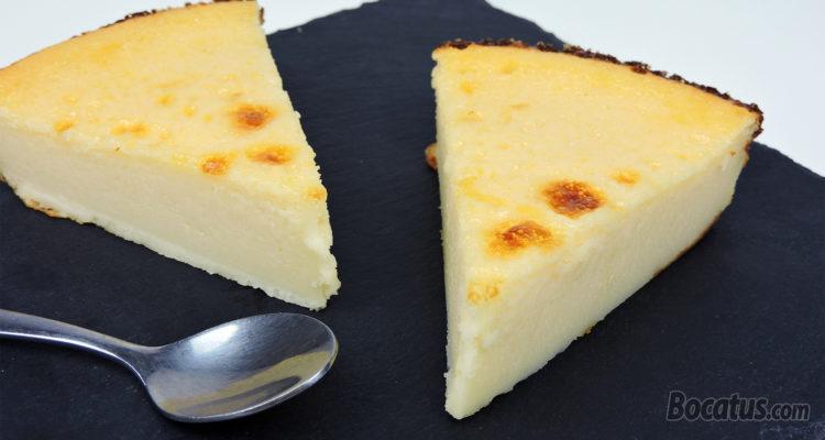 Tarta de Quesitos (muy fácil y rápida)