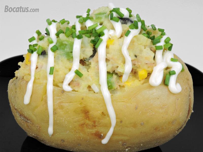 Patata rellena