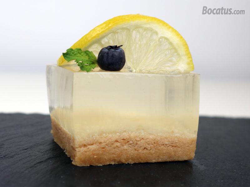 Tarta de gin tonic