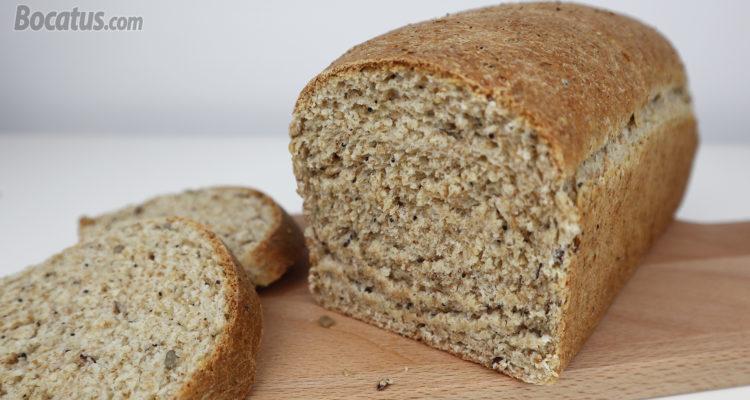 Pan de molde casero (integral y con semillas)