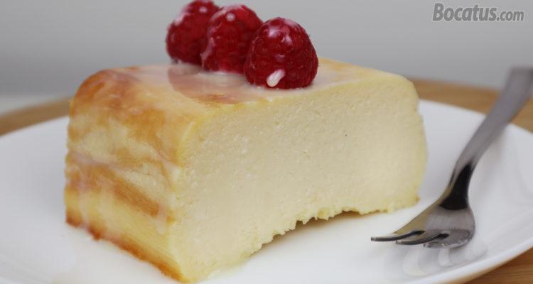 Pastel de Queso y Leche Condensada (fácil y delicioso)