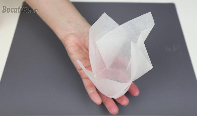 Cápsula de papel de hornear para muffins