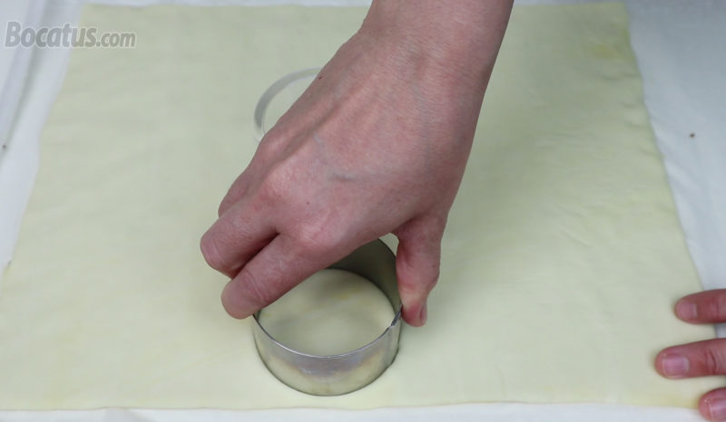Formando las rosquillas