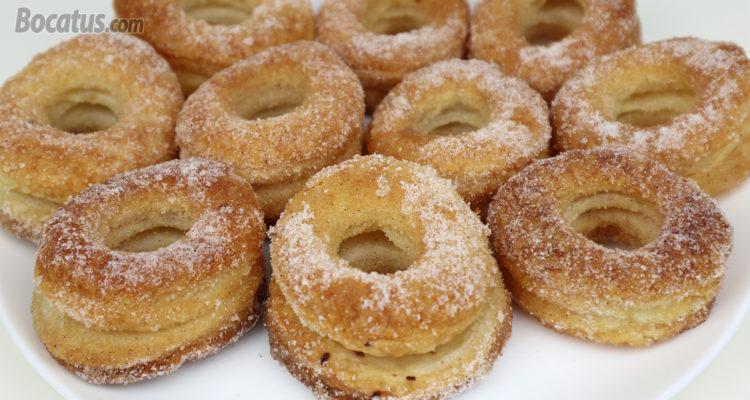 Rosquillas de Hojaldre (muy ricas y fáciles de preparar)