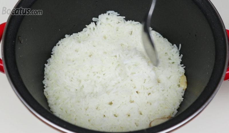 Arroz cocido