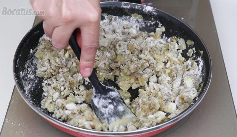 Cocinando la harina