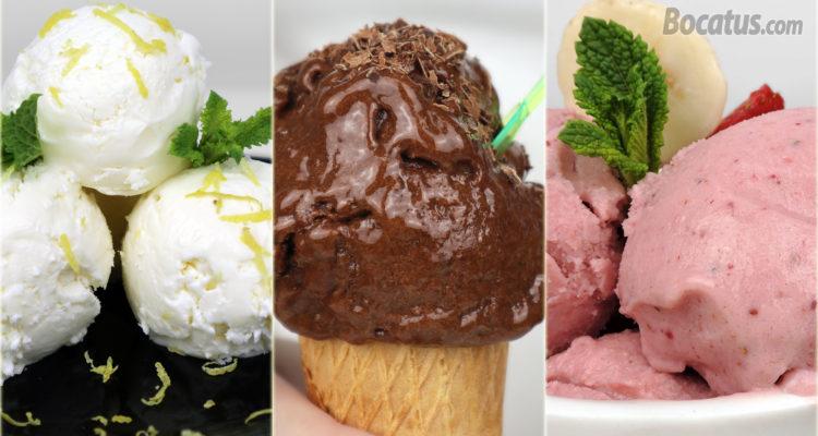 3 HELADOS CASEROS muy fáciles ¡sin heladera!