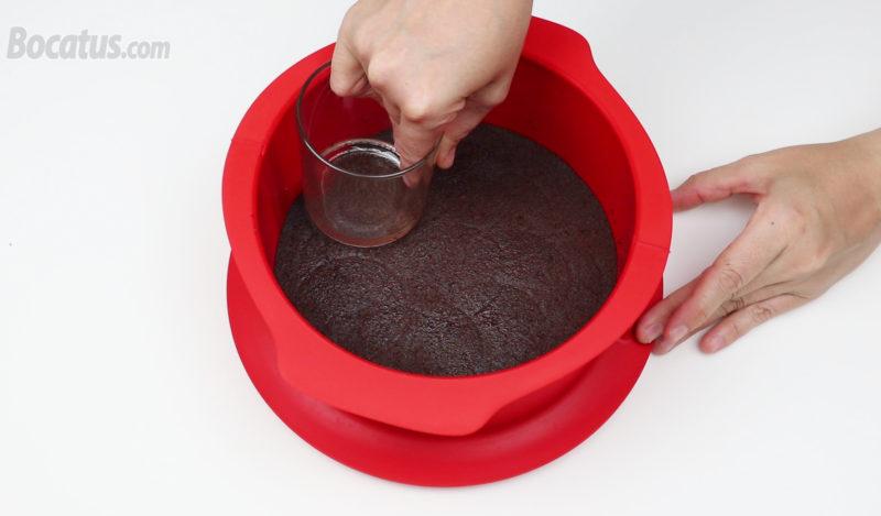 Preparando la base de galleta