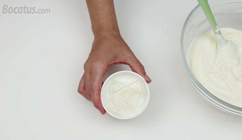 Hojas de gelatina hidratadas