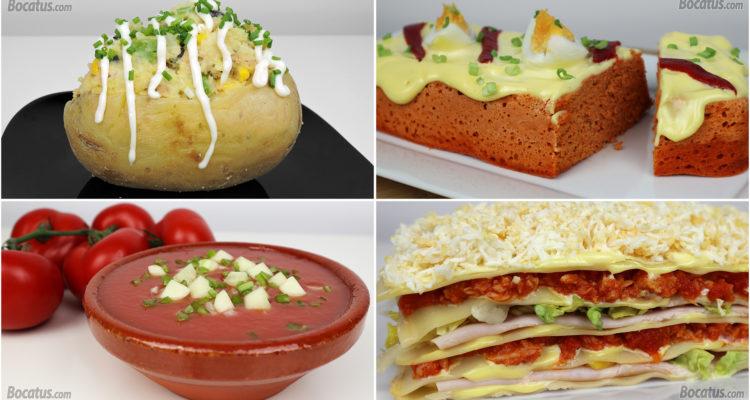 4 Recetas Saladas para disfrutar en Verano