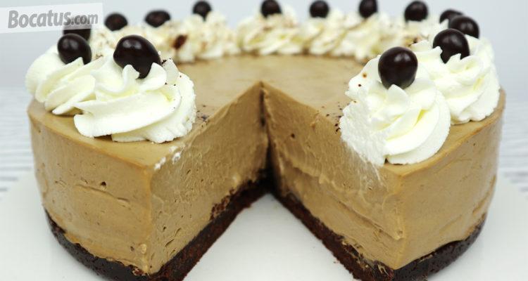 Cheesecake de Café (fácil y sin horno)