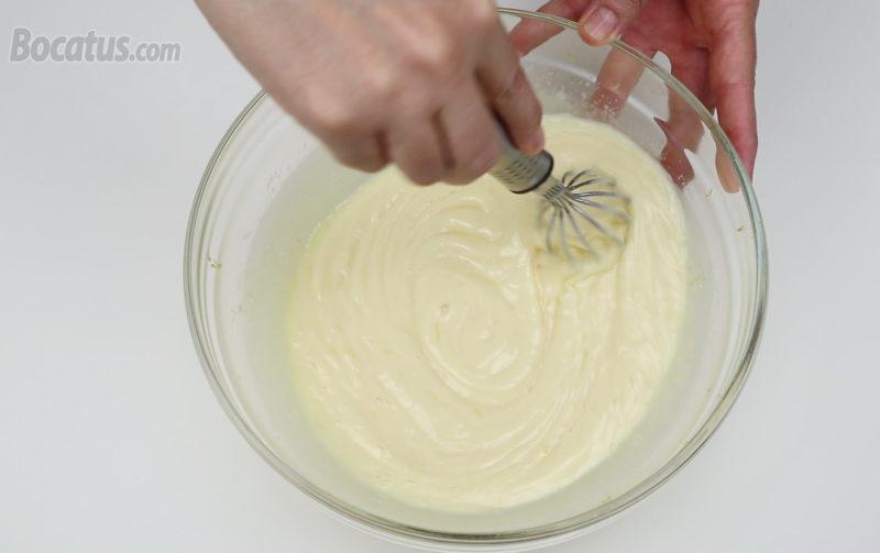 Crema de limón terminada