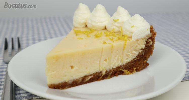 Tarta de Limón (muy fácil y deliciosa)